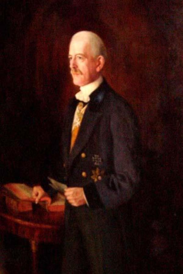 Clemens Freiherr von Schorlemer, Porträt eines unbekannten Malers