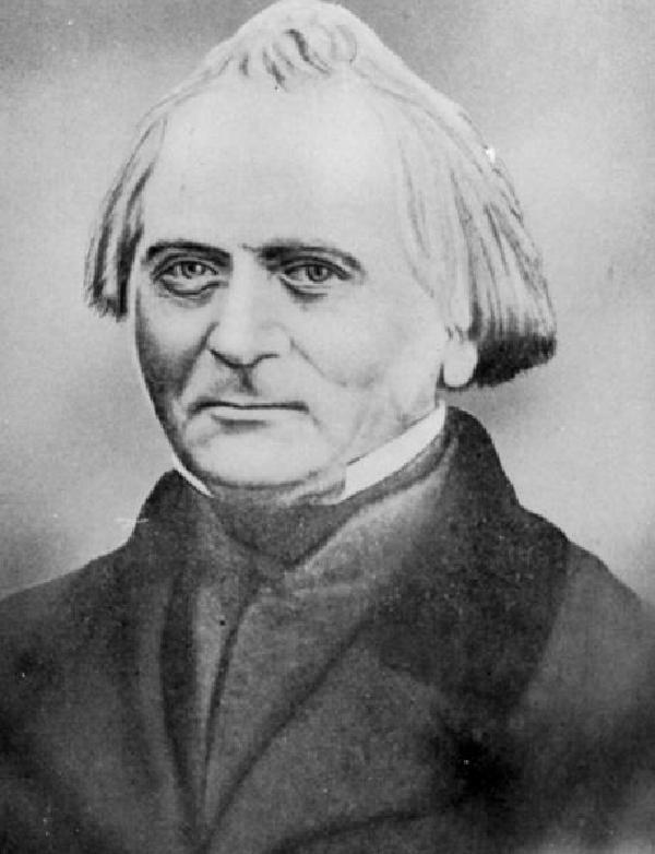 Christian Weuste, Porträt, um 1840