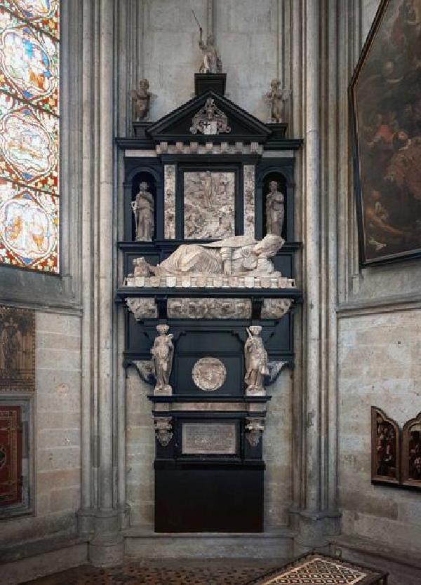 Epitaph des Adolf von Schaumburg in der Stephanuskapelle des Kölner Doms
