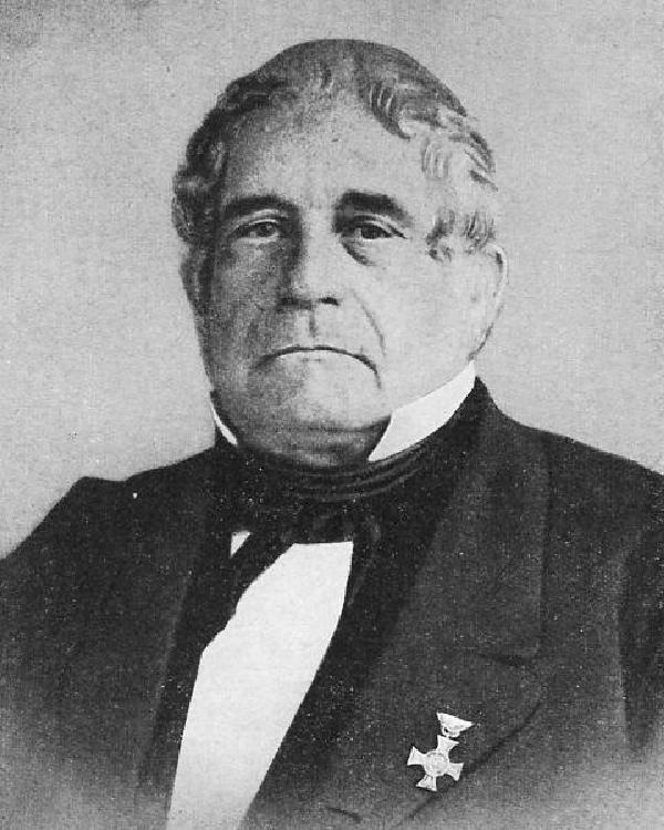 Georg Kreuzberg, Porträtfoto, um 1870