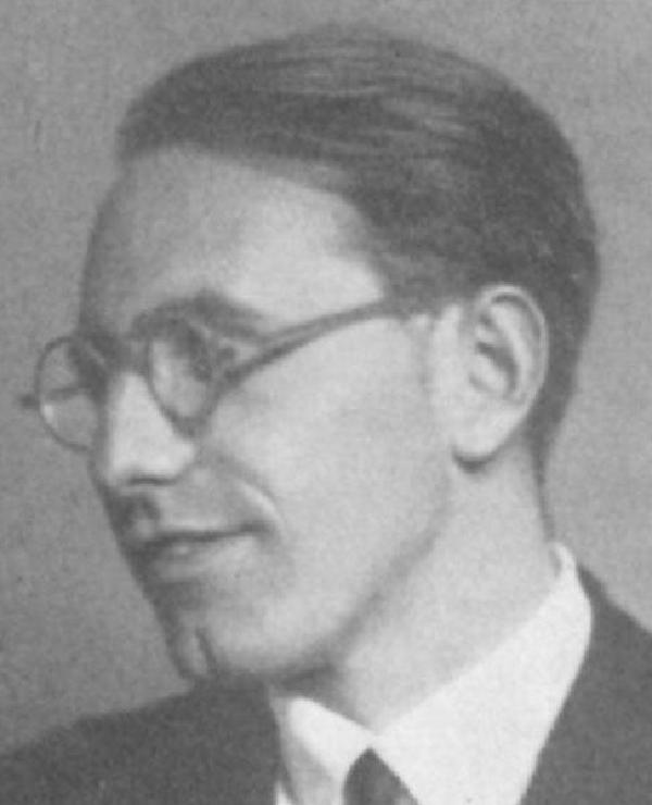Joseph Breitbach, Ende 1920er Jahre, Porträtfoto