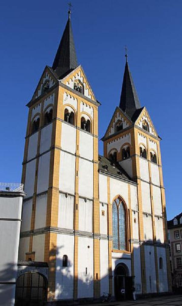 Die Florinskirche in Koblenz, 2011