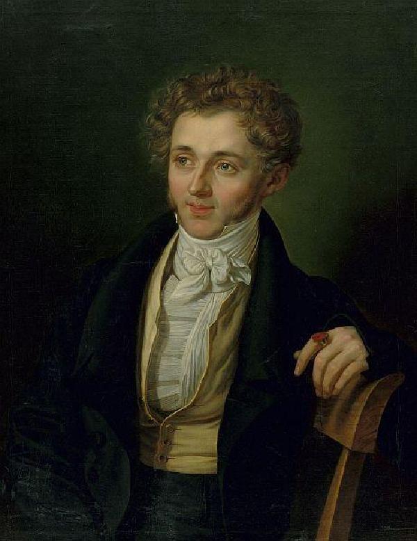 Heinrich Carl Breidenstein, Gemälde von Carl Wilhelm Tischbein (1797-1855)