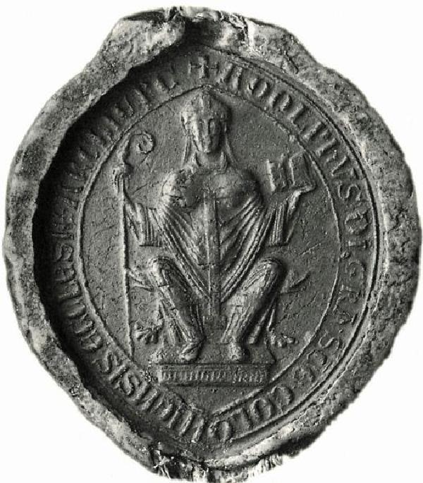 Siegel des Erzbischofs Adolf I. von Altena