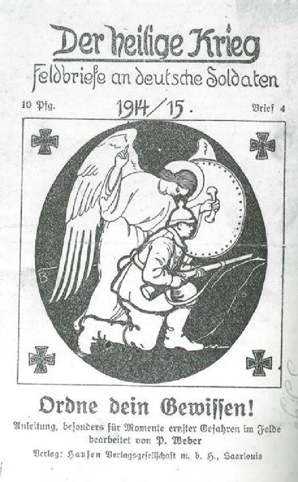 Erbauungsschrift, herausgegeben vom Bistum Trier 1914/1915