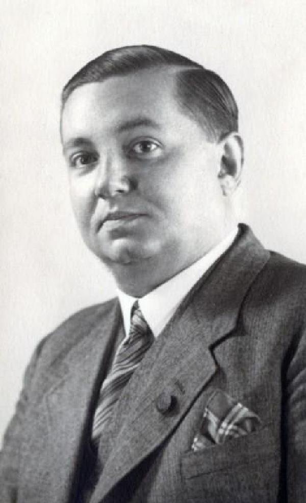 Fritz Eickhoff, Porträtfoto
