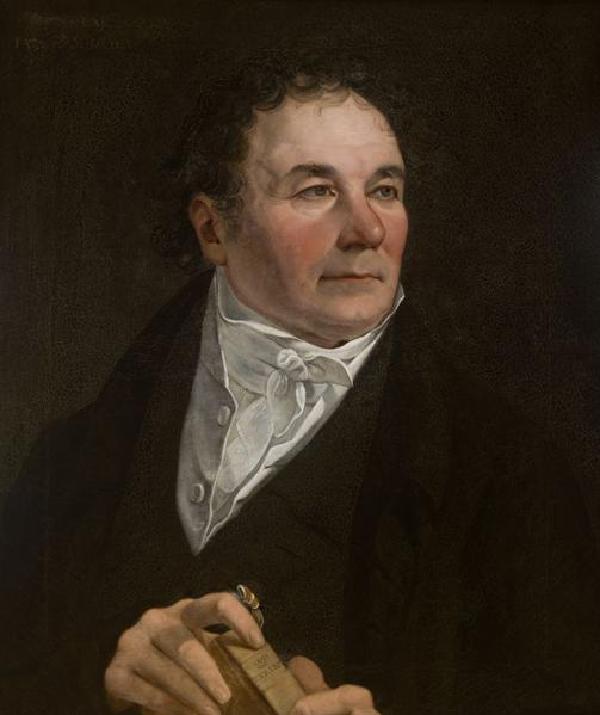 Johann Anton Ramboux, Gemälde von Johann Hugo Wyttenbach (1767-1848), 1829