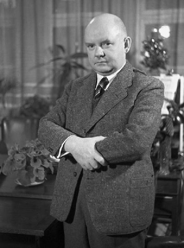 """Heinrich Glasmeier - von 1933 bis 1937 Intendant des unter den Nationalsozialisten sog.""""Reichssenders Köln"""""""