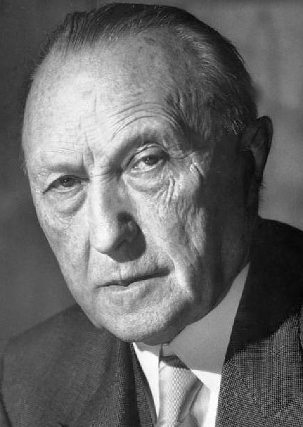 Bundeskanzler Dr. Konrad Adenauer, New York 23.6.1952