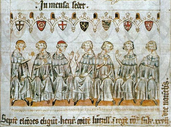Balduin von Luxemburg, Abbildung des Trierer Kurfürsten in der Bilderhandschrift