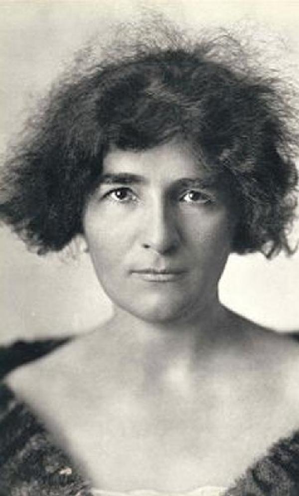 Elly Ney, Porträtfoto, 1925