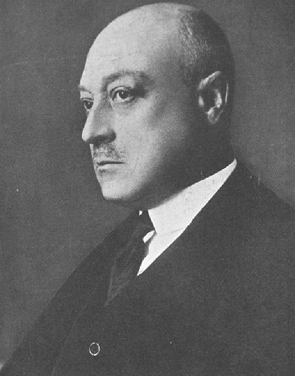 Paul Silverberg, Porträtfoto, 1930
