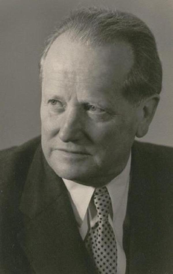 Franz Steinbach, Porträtfoto