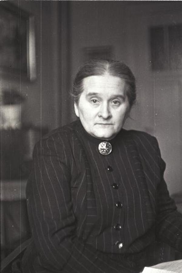 Christine Teusch, um 1947