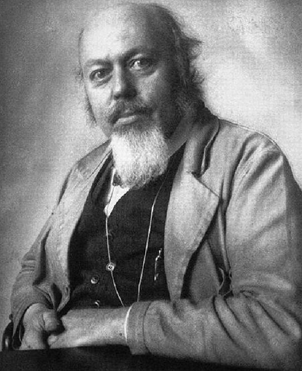 Dominikus Böhm. Aufnahme des Architekturfotografen Hugo Schmölz (1879-1938)