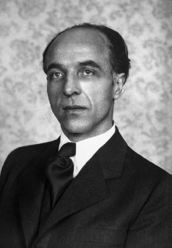 Karl Arnold, Porträtfoto, Repro von 1956
