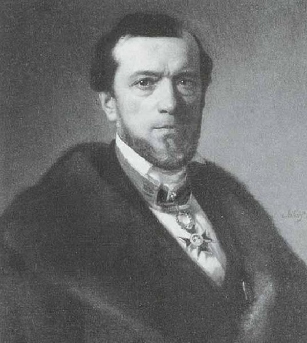 Peter Reichensperger, Gemälde von Julius Friedrich Anton Schrader (1815-1900), 1865